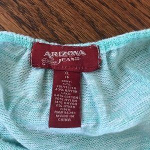 Arizona Jean Company Shirts & Tops - 5 for $25: Arizona Jean Company top with lacy back